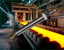LVDT Position Sensors ensure quality control in steel mills.