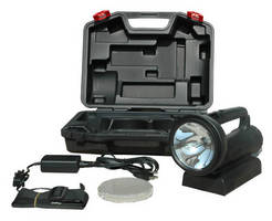 Handheld Rechargeable HID Light offers various lens options.
