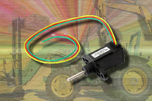 Linear Position Sensor covers electrical strokes to 10 mm.