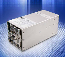 AC-DC Power Supplies deliver 400-2,500 W.