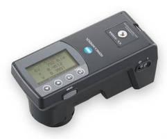Illuminance Spectrophotometer takes multiple measurements.