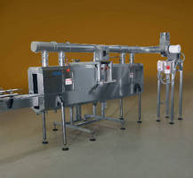 Adjustable Steam Tunnel operates at up to 200 cpm.
