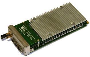 High-Performance AdvancedMC Boards incorporate TI DSPs.