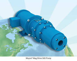 Sealless Moyno® Mag Drive 500 Pumps Protect the Work Place and the Environment