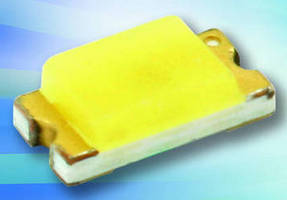 Ultra-Bright LEDs come in 1.6 x 0.8 x 0.55 mm SMT package.