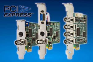 New Image Acquisition PCI Express Frame Grabbers