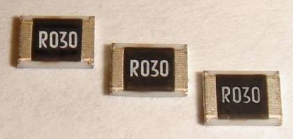 SMD Current Sensing Resistors come in 1210 case size. .