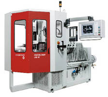 Injection Blow Molder produces bellows for shock absorbers.
