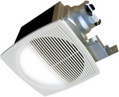 In-Ceiling Bathroom Fan provides quiet, efficient ventilation.