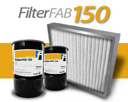 Water-Based Sealant aids assembly of air intake panel filters.