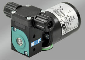 Micro Diaphragm Pump features self-priming, dry-running design.