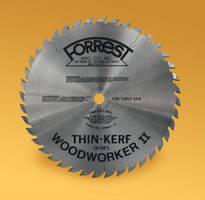 Forrest's Versatile Woodworker II-ATBR Saw Blades