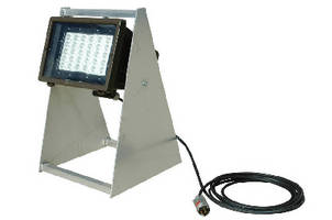 Pedestal Mount LED Light operates in hazardous locations.
