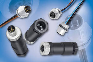 M12 Receptacles suit industrial and automation applications.