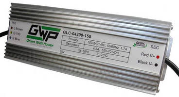 Constant Current AC/DC LED Power Supply delivers 150 W output.