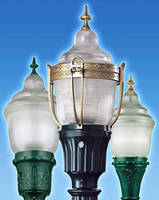 Outdoor LED Luminaires feature period style designs.