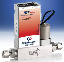 Mass Flow Meters/Controllers with EtherCAT Interface