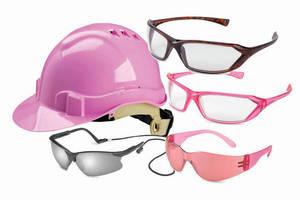 Eye and Head Safety Gear is designed specifically for women.