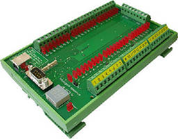 Digital I/O Controller offers 24 solid state relay channels.