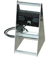LED Blasting Light features pedestal-mounted design.