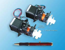 Metering Pumps dispense air-sensitive, crystal forming fluids.