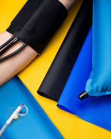 Medical Fabric can be RF welded, heat and sonic sealed.