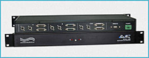 Dual MDR/MXR A/B Switch offers RS232 serial remote control.