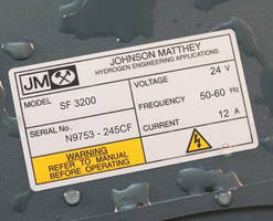 Rating Plate Labels feature fully submersible design.