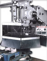 Safety Shields fit Bridgeport milling machines.