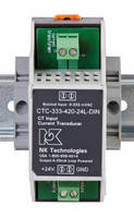 Signal Converters change CT signal to standard 4-20 mA output.