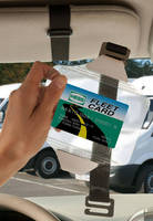 Fleet Gas Card Holder combines accessibility and concealment.