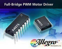 Full-Bridge PWM Motor Driver features synchronous rectification.