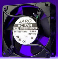 "Jaro Thermal's ""Intelligent"" AC Fans Provide Temperature-Compensating Technology"