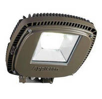 LED Floodlight/Highbay Luminaire delivers high output efficiency.