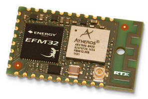 Fully Embedded Wi-Fi Module measures 30 x 18 mm.