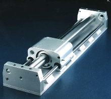 Slide incorporates ball-bearing system.