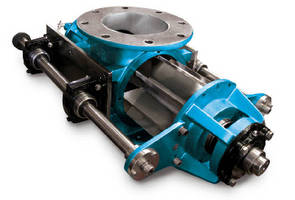 Rotary Airlock Valves feature cast iron construction.