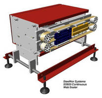 Continuous Web Sealer can adjust to suit diverse requirements.