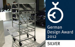 "Official Award Presentation - Item Receives the ""German Design Award 2012 Silver"""