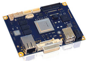 Pico-ITX Embedded Motherboard suits video-centric applications.