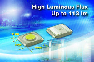 White LEDs utilize nitride phosphor for color stability.