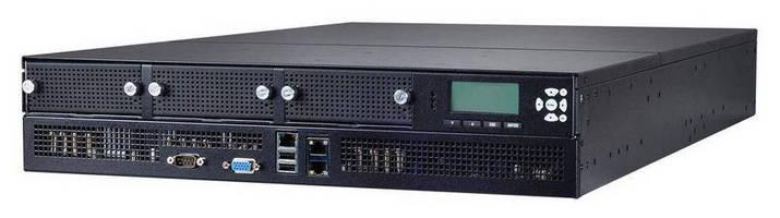 Network Security Platform (2U) leverages power of 4 CPUs.