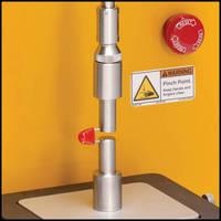 Tensile Test Fixture measures breaking strength of gel capsules.