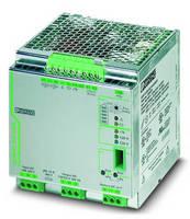 Intelligent UPS accommodates wordwide AC applications.