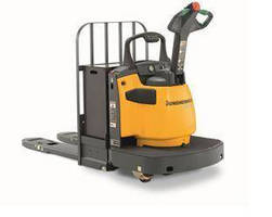 End Rider Pallet Trucks offer 6,000 and 8,000 lb capacities.