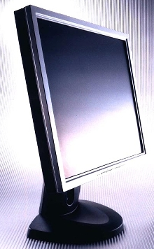 Flat Panel Displays offer narrow 18.6 mm bezel.