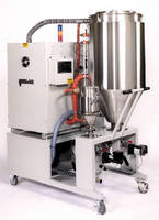Resin Dryer features optimized volumetric blending system.