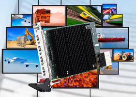CompactPCI Board supports multi-display applications.