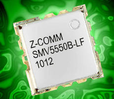 Wideband VCO targets satellite communication systems.