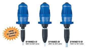 Chemical Metering Dispensers target car wash market.